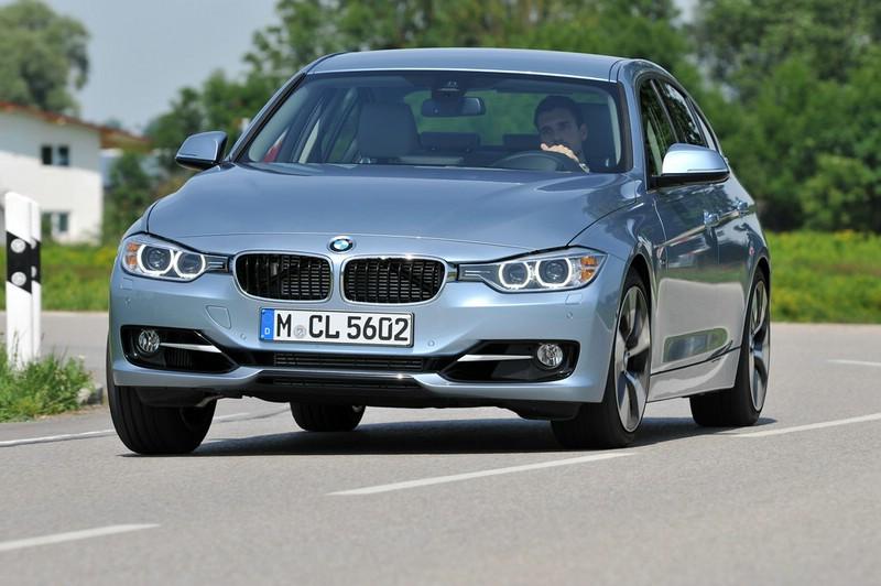 Die Frontpartie des BMW Active Hybrid 3