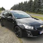 Chevrolet Cruze Kombi in schwarz (Standaufnahme)