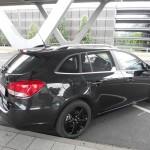 Der neue Chevrolet Cruze Kombi in der Seitenansicht