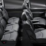 Der Innenraum des Citroen C8 Facelift 2012