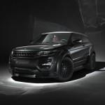 Schwarzer Range Rover Evoque von Hamann