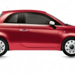 Fiat 500 Spndermodell Happy Birthday in Rot