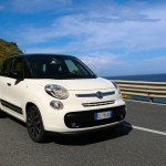 Fiat 500L in weiss