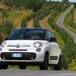 Fiat 500L in der Frontansicht