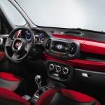 Das Interieur des Fiat 500L