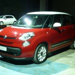 Fiat 500L auf einer Automesse