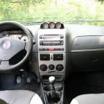 Das Armaturenbrett des Fiat Strada Adventure