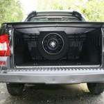 Die Ladefläche des Fiat Strada Adventure