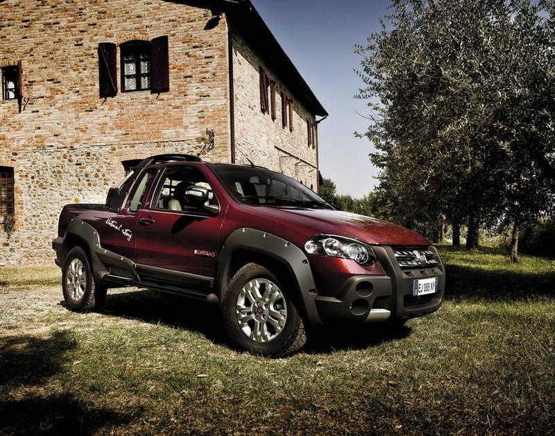 Fiat Strada Lumberjack (Standaufnahme)