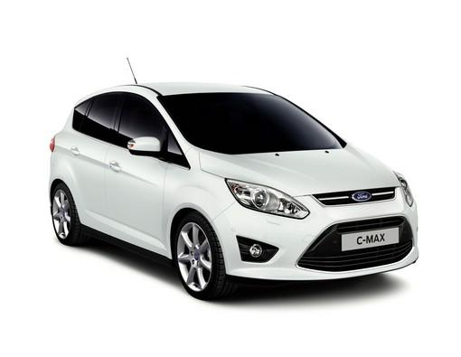 Der aktuelle Ford C-Max in Weiß