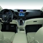 Das Armaturenbrett des Honda CR-V