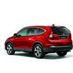 Der neue Honda CR-V in der Heckansicht