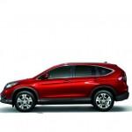 Neuer Honda CR-V in der Seitenansicht