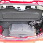 Platzangebot im Kofferraum des Seat Mii