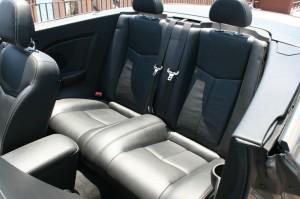 Ledersitze im Lancia Flavia Cabrio