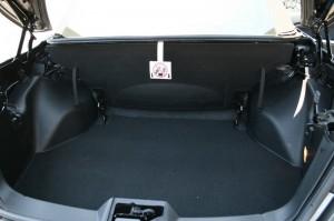 Der Kofferraum des neuen Lancia Flavia