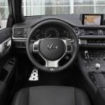 Das Cockpit des Lexus CT 200h F
