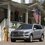 Mercedes-Benz GL 350 Bluetec in der Frontansicht