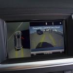 Der Bildschirm für die Kamera im Mercedes-Benz GL 350 Bluetec