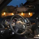 Das Cockpit des Mercedes-Benz GL 350 Bluetec