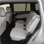 Das Platzangebot hinten im Mercedes-Benz GL 350 Bluetec