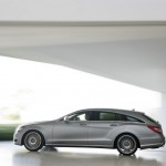 Der neue Mercedes CLS 63 AMG Shooting Brake in Silber