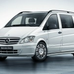 Mercedes Vito Effect in der Mixto-Variante in Weiss