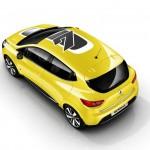 Renault Clio aus der Vogelperspektive