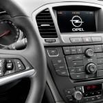 Die Mittelkonsole des Opel Insignia 1.4 Turbo LPG Ecoflex