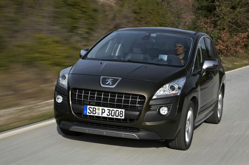 Peugeot 3008 in schwarz