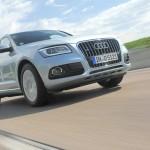 Der neue Audi Q5 hybrid quattro (Fahraufnahme)