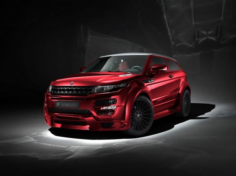 Die getunte Version des Range Rover Evoque