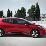 Renault Clio Modell 2012 in Rot