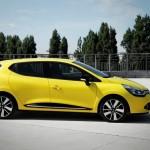 Renault Clio 2012 in Gelb
