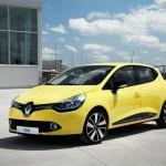 Der neue Renault Clio in der Front- Seitenansicht