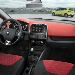 Der Innenraum des Renault Clio