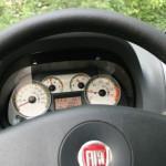 Der Tachometer Fiat Strada Adventure