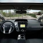 Das Armaturenbrett des Toyota Prius Plus