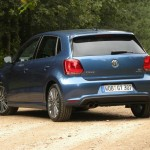 Polo Blue GT in der Heckansicht