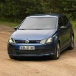 Der neue Polo Blue GT in der Frontansicht