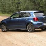 Vw Polo Blue GT 2012 in der Seitenansicht