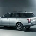 2013 Range Rover in der Seitenansicht