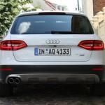 Heckpartie des Audi A4 allroad quattro 3.0 TDI clean diesel