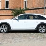 Seitenpartie des Audi A4 allroad quattro 3.0 TDI clean diesel