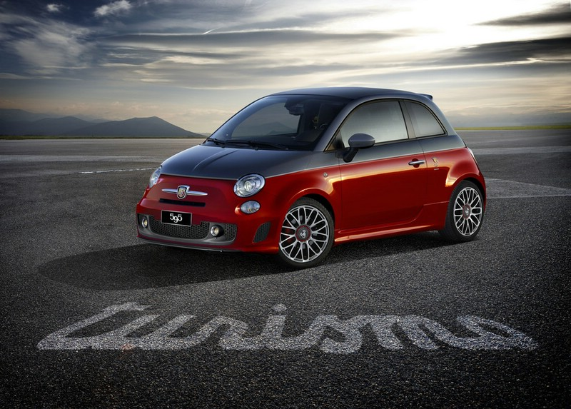 Roter Abarth 595 Turismo 2012