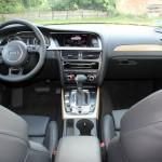 Das Interieur des Audi A4 allroad quattro 3.0 TDI clean diesel
