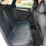 Die Fondsitze im Audi A4 allroad quattro 3.0 TDI clean diesel
