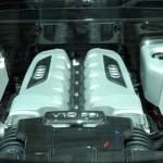 Der Motor des Audi R8 V10