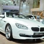 Das neue BMW 6er Cabrio in Weiss