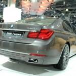 Die Heckpartie des BMW 740 LI